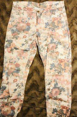 Sisley Pantalone peg-top color oro rosa-crema