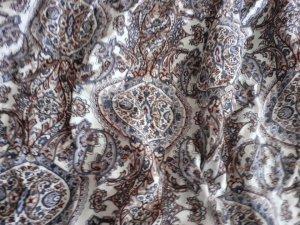 Pantalón estilo Harem blanco-azul