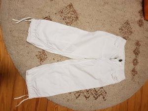 H&M Pantalón tobillero blanco