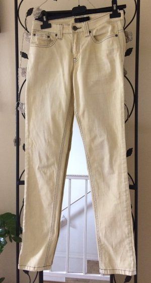 17&co Pantalon strech jaune clair