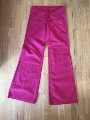 Fornarina pantalón de cintura baja rosa