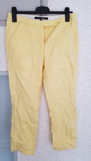 sommerhose gelb gr. 38