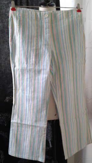 Low-Rise Trousers white-meadow green