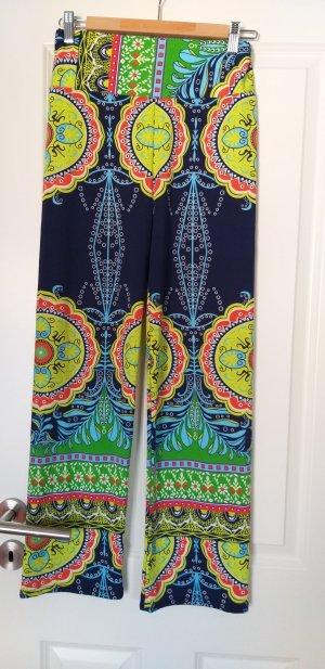 Pantalone bloomers nero-blu