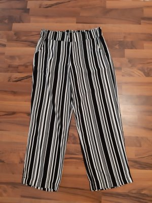 Marlene Trousers white-black