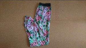 Vero Moda Pantalón de pinza alto rosa-verde