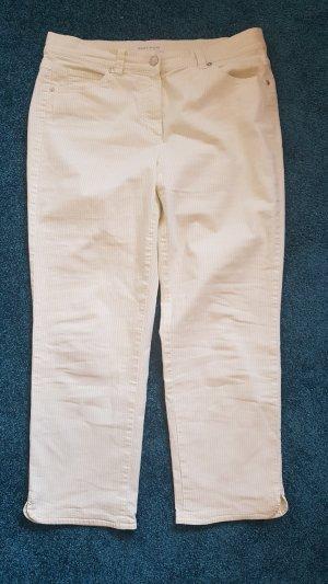 Gerry Weber Jeans a 7/8 bianco-verde pallido