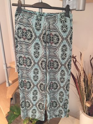 H&M Palazzo Pants turquoise-black