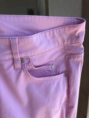 Apanage Pantalone cinque tasche rosa chiaro Tessuto misto