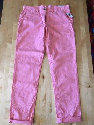 Gap Pantalon chinos abricot-saumon coton