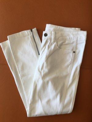 Heine Pantalon cinq poches blanc