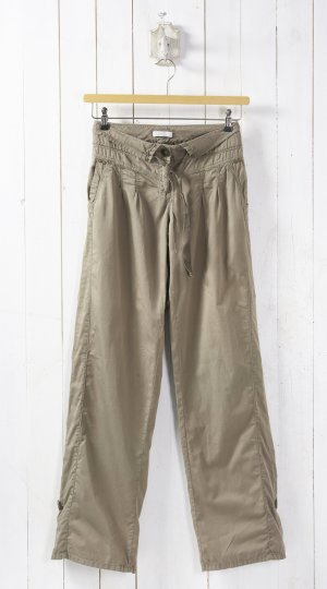 Promod Baggy Pants green grey cotton