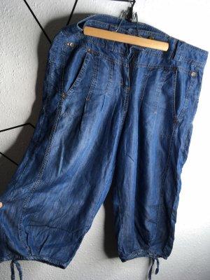 Promod Pantalón estilo Harem azul acero