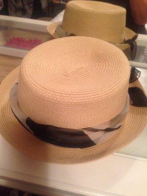 Chapeau de soleil crème