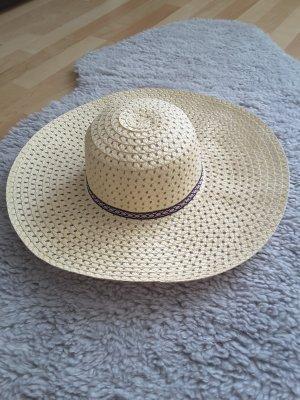Cappello parasole crema