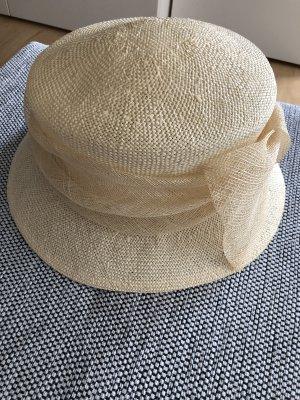 Della Palma Cappello di paglia beige chiaro