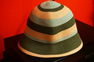 Felt Hat multicolored polyester
