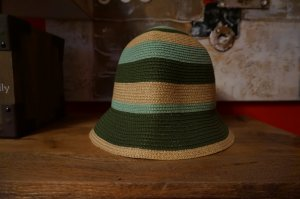 Cloche Hat multicolored