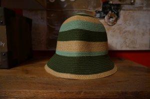 Cappello cloche multicolore