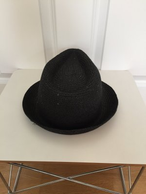 Even & Odd Straw Hat black