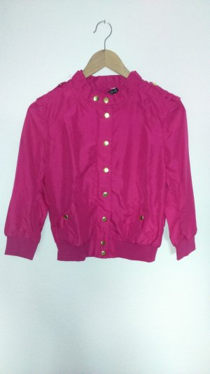 H&M Divided Giacca bomber rosa Poliestere