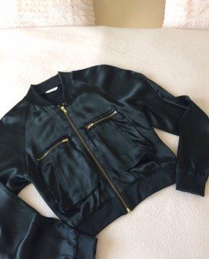 Sommerjacke Jacket Blouson_Gr.36_Satin_neuwertig