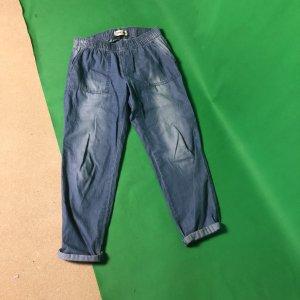 Biba Jeans larghi azzurro