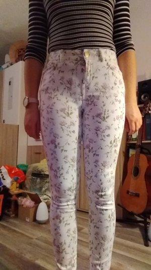 C&A High Waist Trousers white