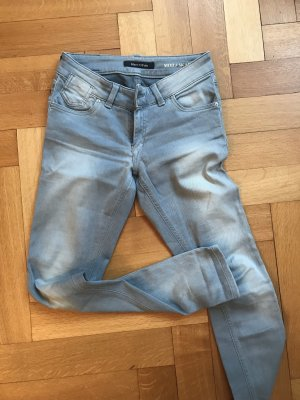 Marc O'Polo Tube jeans zilver-azuur