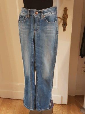 Cambio Jeans Capris dark blue
