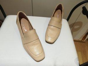 Sommerkind Damen Schuh sommerlich, creme, Gr. 39, Echtleder