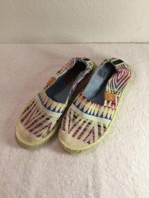 Sommerkind Espadrille sandalen veelkleurig