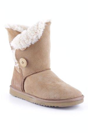 Sommerkind Fellstiefel camel-beige Casual-Look