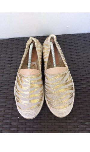 Sommerkind Ballerinas beige-gold-colored