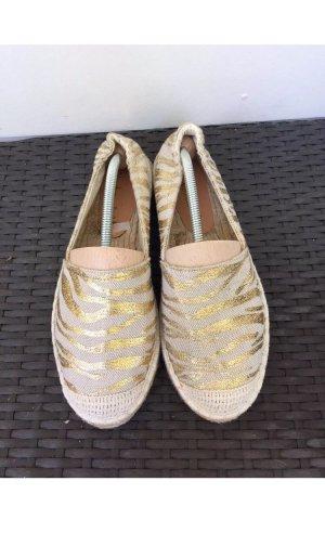 Sommerkind gr 41 Espandrillas beige gold