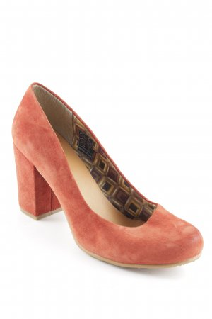 Sommerkind High Heels rostrot Casual-Look