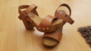 sommerkind Holz-Sandalen