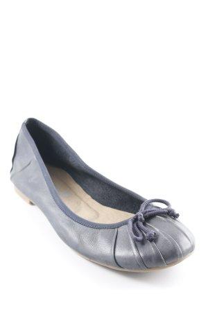 Sommerkind Riemchen Ballerinas graublau Casual-Look