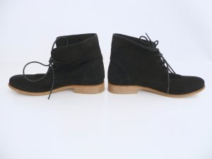Sommerkind Lace-up Booties black