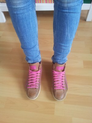 Sommerkind Sneaker Turnschuhe braun pink Sommer Frühling