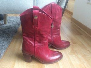 Sommerkind Buskins dark red-purple leather