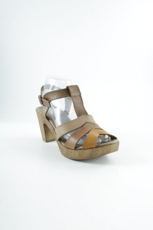 Sommerkind T-Strap Sandals striped pattern casual look