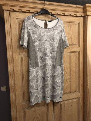 Didi Vestido de tubo blanco-gris