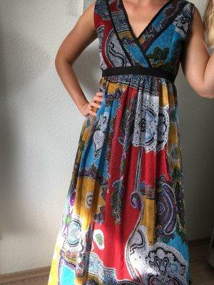 Mela London Abito di chiffon multicolore
