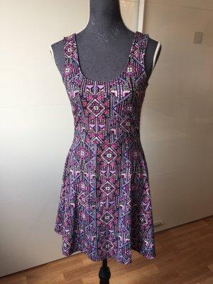 Even & Odd Stretch jurk veelkleurig