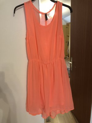 H&M Beach Dress salmon-apricot