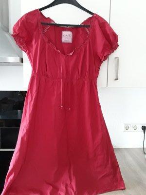 Esprit Vestido tipo túnica rojo oscuro