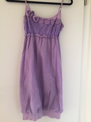 Robe ballon lilas