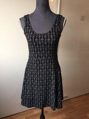 Even & Odd Stretch jurk zwart-wit