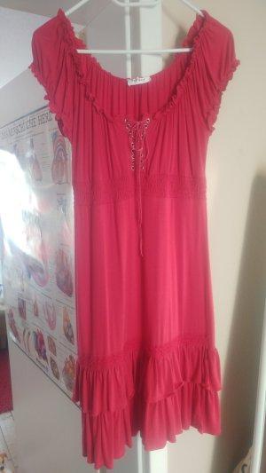 Orsay Vestido de tela de jersey rojo